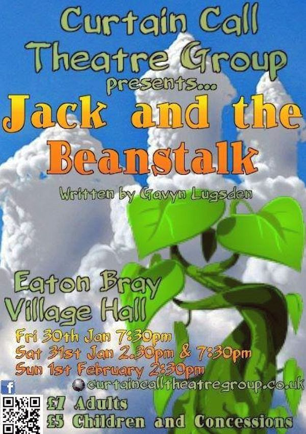 Curtain Call Theatre Group present Jack and the Beanstalk