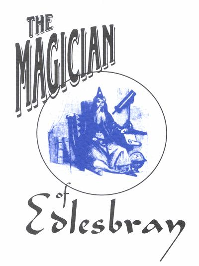 The Magician of Edlesbray Programme Cover